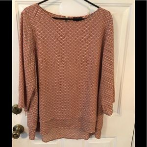 Limited Blouse with Layered Bottom. XL